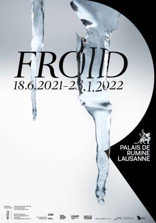 Affiche de l'exposition Froid Enzed conception graphique