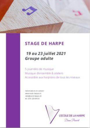 L'Ecole de la Harpe Diane Pauvert