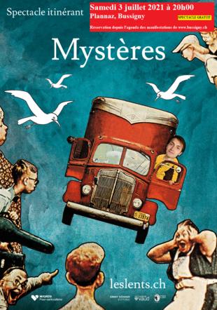 """Spectacle """"Mystères"""""""