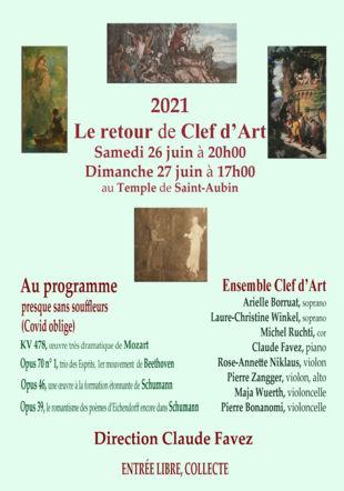 Programme du concert