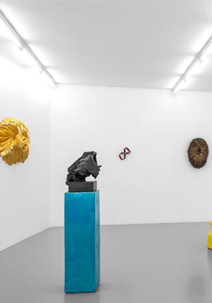 Vue de l'exposition @J.Hopenstand & Johan Creten