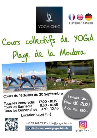 Cours de Yogachic à la Moubra YogaChic
