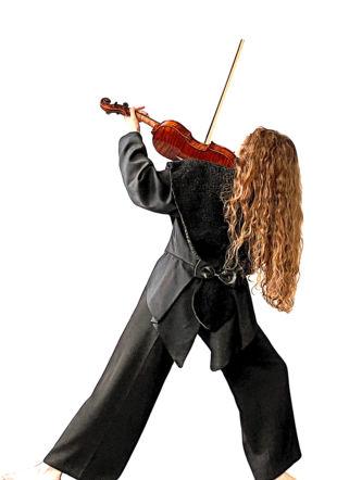 Danseuse et son violon