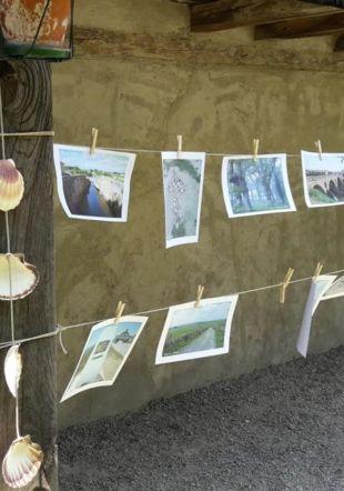 Exposition de photos de pèlerins