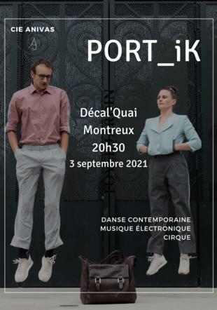 Antoine Lot & Raphaëlle Savina pour PORT_iK