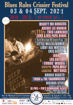 """Gagnez vos billets pour l'événement """"Blues Rules Crissier Festival"""""""
