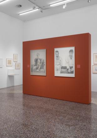 Vue de l'exposition Julien Gremaud
