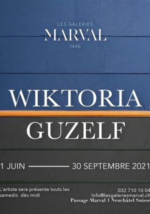 Tableau en cuir de Wiktoria Guzelf