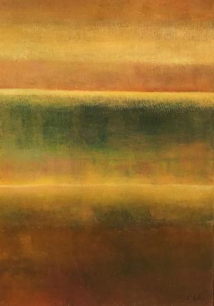 huile et pigments de Claire Bolay