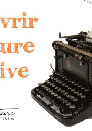 Découvrir l'écriture créative L'atelier d'écriture by Christine