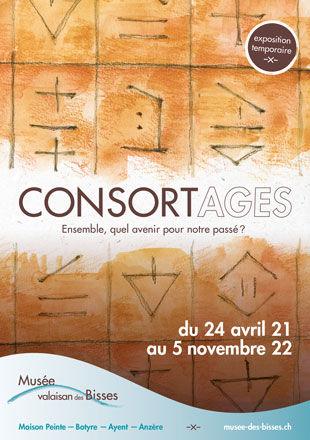 Flyer de l'exposition temporaire CONSORTAGES