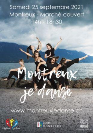 Affiche Montreux je danse 2021