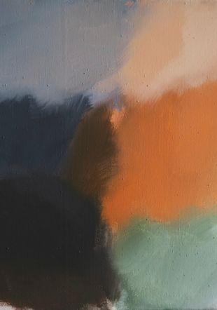 « Souffle » acryl sur toile 2021 ©Ivo Vonlanthen