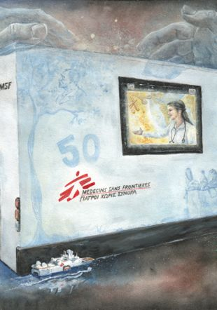 50 ans de Médecin Sans Frontières Carole Isler