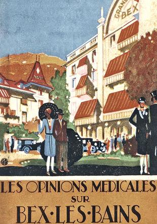 Revue sur Bex-les-Bains Association Cum Grano Salis