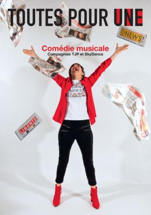 Affiche comédie musicale Toutes pour Une LaureN Pasche