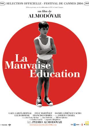 Affiche La Mauvaise Education