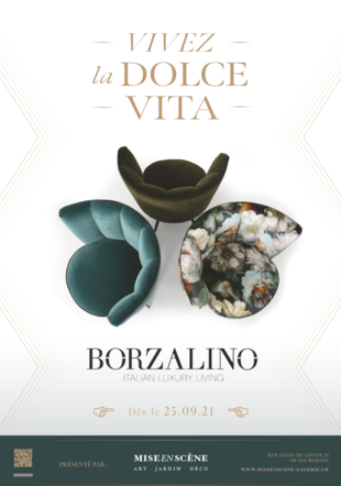 Affiche BORZALINO @Borzalino @miseenscène