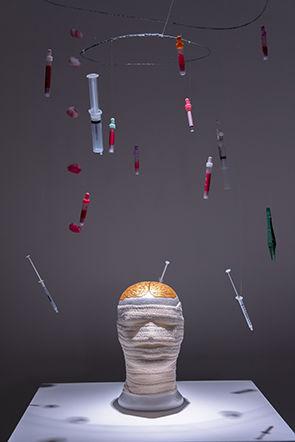 "Exposition ""Art Soin"" © Musée de la main UNIL-CHUV, HESAV, La Source"