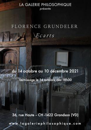 Exposition FLORENCE GRUNDELER La Galerie Philosophique