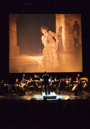 Cine-concert Theatre du passage 2021 ©romainribaud.com