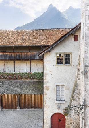 Chateau DeGruyeres_Cour