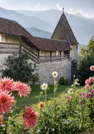 Château De Gruyeres_Jardin_