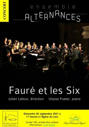 Affiche Fauré et les Six
