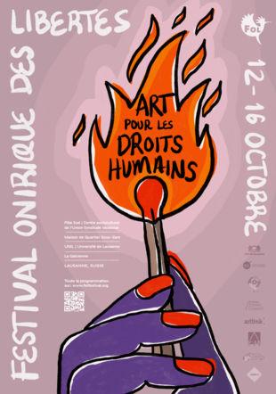 Affiche FOL 2021 Festival Onirique des Libertés