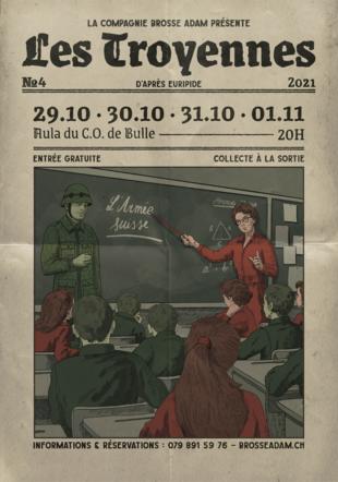 Affiche: Les Troyennes