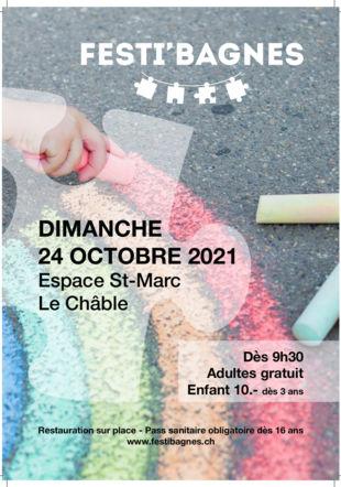 Affiche Festi'Bagnes 21 ©FESTIBAGNES