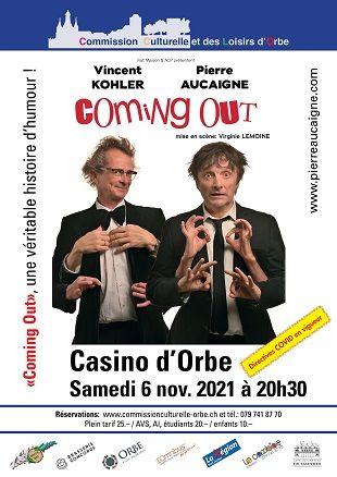 Coming Out, avec Pierre Aucaigne et Vincent Kohler