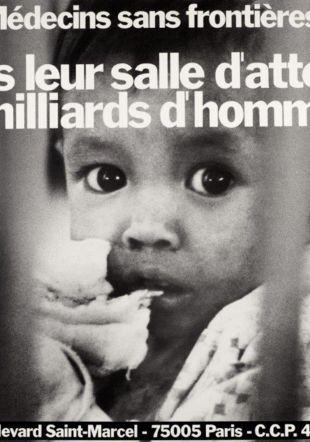 Affiche de 1977 Médecins Sans Fronitères