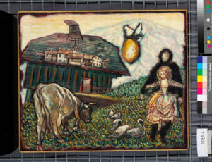 Les peintures d'Antonio Bruni à Bulle