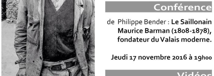Joseph Thurre Patrimoine de Saillon