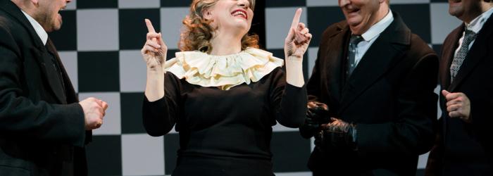 Die lustige Witwe / La Veuve joyeuse Sabine Burger / TOBS