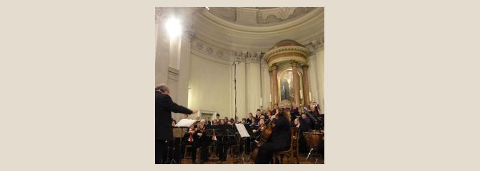 l'EVG et l'OLG en concert à Carouge Orchestre de Lancy-Genève