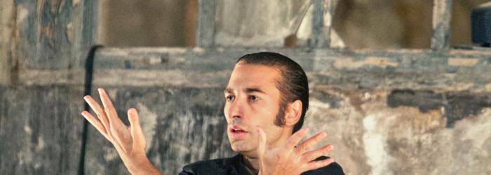 Israel Galvan, danse Luis Castilla