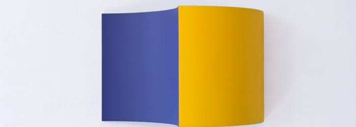 Farb-licht-modelierung, 2016, 32x48x24 cm, acryl. et laque s/ bois galerie la vitrine, 2018