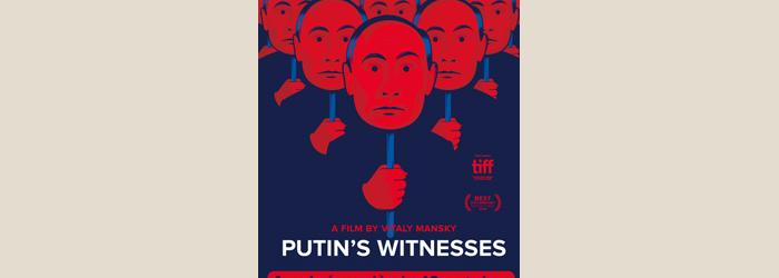Affiche du film Putin's Witnesses