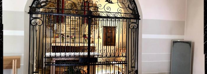 Grille du choeur de la chapelle Daniel Thomas www.carillons.ch