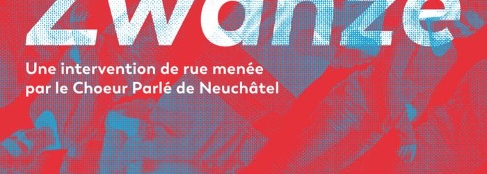 Affiche  Zwanze Théâtre des lunes