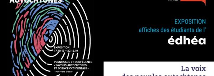 """Exposition """"La voix des peuples autochtones"""" Alliance Sud InfoDoc"""