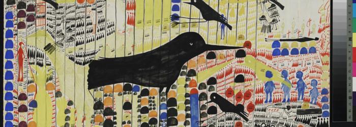 carlo zinelli art brut Claudine Garcia, Atelier de numérisation – Ville de Lausanne