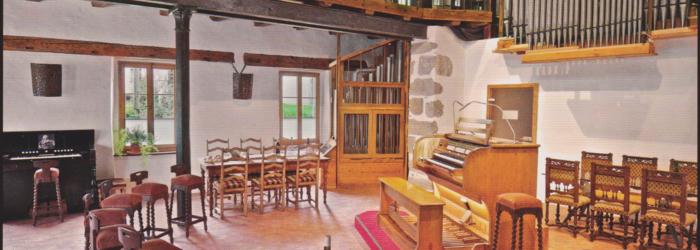 Le plus grand orgue installé dans une maison en Suisse. libre