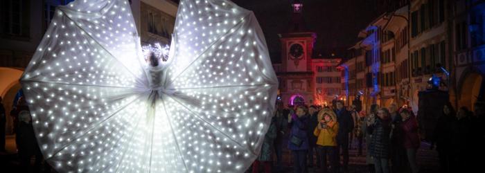 Morat Festival des Lumières 2020 Adrian Scherzinger