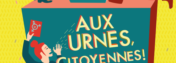 Affiche Semaine de l'égalité Olga-Olga / Ville de Genève