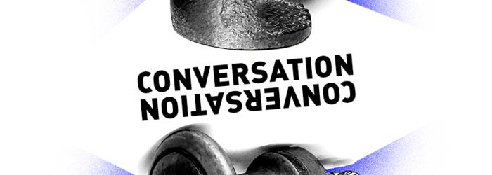 CONVERSATIONS, objets au départ des deux conversations Nadia Gagnebin