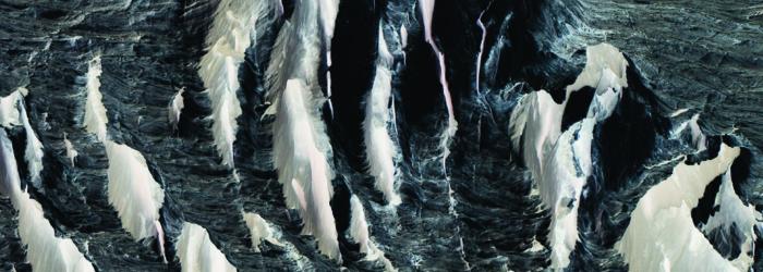 Laurence Bonvin, Aletsch Negative, couverture, 2020. Laurence Bonvin / Manoir de la Ville de Martigny