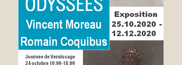 Exposition Odyssées Atelier Coquibus